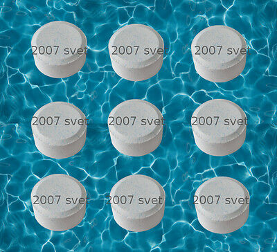 20 x 20g CHLORINE TABLETS 5 IN 1 Multifunction SWIMMING POOL HOT TUB SPA