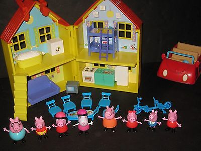 Peppa The Pig Dollhouse Playset