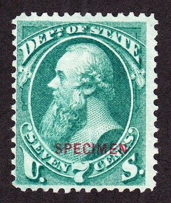 US O61S 7c State Department Specimen F-VF NGAI SCV $140 (004)