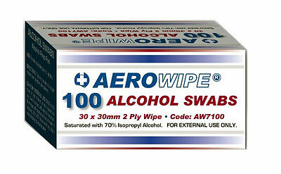 500 Alcohol Wipes