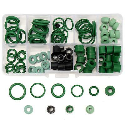 R134A/R410A A/C HVAC O-Ring Hose Gasket Seal Kit Assortment 9 Sizes Rubber Rings