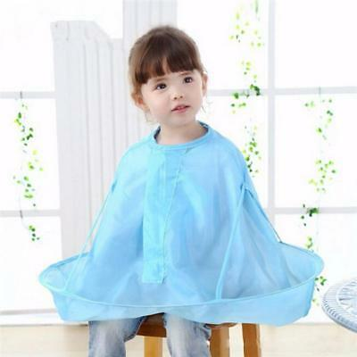 Home Salon Hair Cut Cutting Hairdressing Barber Cape Gown Cloth For Kid Child JJ