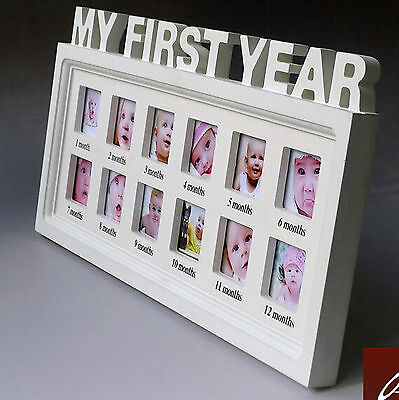 Baby's First Year 12 months month Baby Frame set table/Hanging Decorative Photo