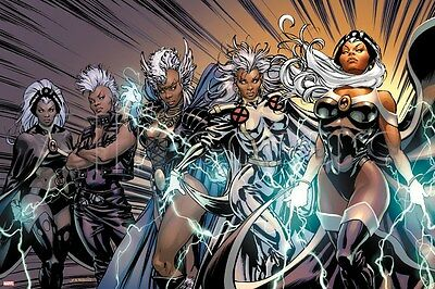 Marvel X-Men Evolutions No.1: Storm Poster - 24x36