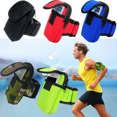 Arm Band Case Wrist Bag Strap Pouch Phone Holder for Running Cycling Jogging Gym