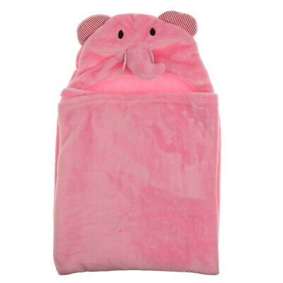Unisex Kids Baby Infant Hooded Beach Bath Towel Bathrobe Sleep Wrap Blanket