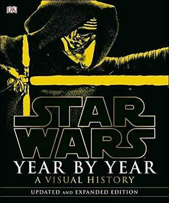 Star Wars Year by Year by Dk Hardcover Book