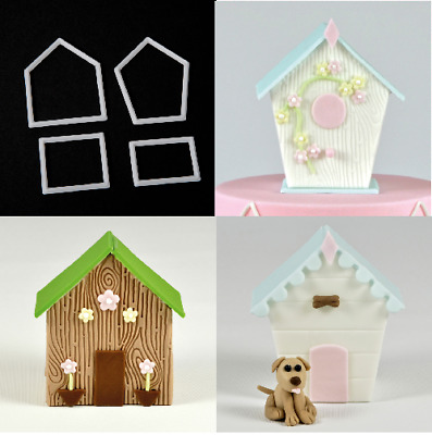 Fmm More Than A Bird House/kennel/shed Cutter Sugarcraft Cake Decorating