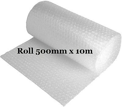 Jiffy Roll of Bubble Wrap Protective Packaging 10mm Bubbles Roll 500mm x 10m