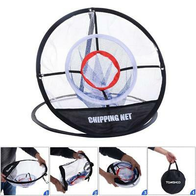Portable Pop up Golf Chipping Pitching Practice Net Training Aid Tool New G9J9