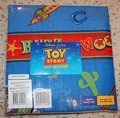 Toy Story & Beyond Single Quilt Cover and Pillow Case Set!
