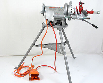 """RIDGID 300 PIPE THREADER with TriStand 1/2"""" to 2"""" Power Drive Rigid 15682"""