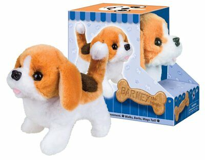 Battery Operated Plush Barney the Beagle