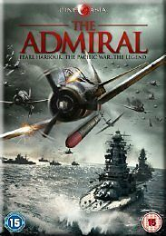 THE ADMIRAL starring Hiroshi Abe - LIKE NEW but NO OUTER CELLOPHANE {DVD}