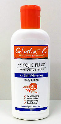 Gluta-C Kojic Plus Skin Whitening Body Lotion + SPF30 150ml (from £19.99 to £45)