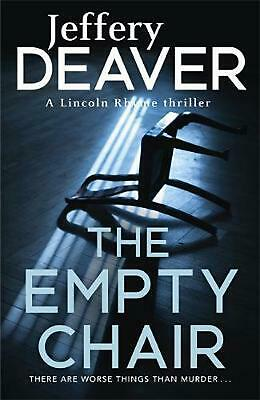The Empty Chair: Lincoln Rhyme Book 3 by Jeffery Deaver Paperback Book Free Ship