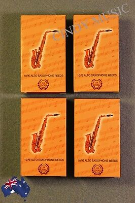 4PCS Alto saxophone reeds bE 10 piece of packaging NEW