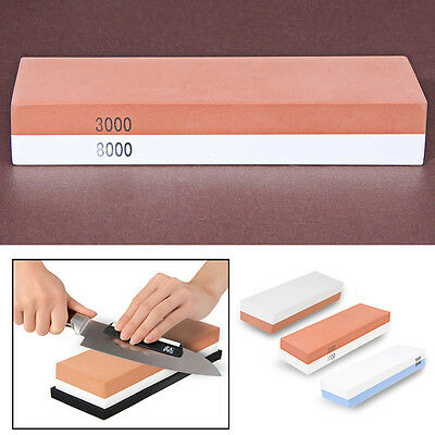 Master Class Dual Knife Whetstone Double Sided Sharpener Sharpening Wet Stone