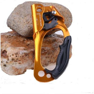 Large Right Hand Ascender Riser 8-13mm Rope Rock Climbing Caving Equipment