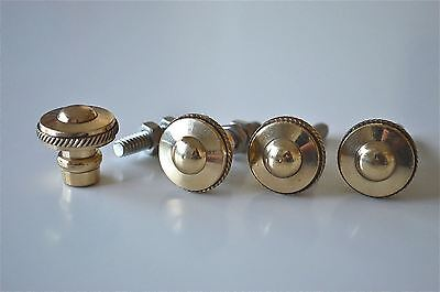 set of 4 superb quality antique brass furniture knobs handles chest knob 2010