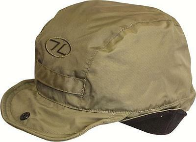 Highlander Green Water Resistant Breathable Outer Fleece Lined Mountain Hat