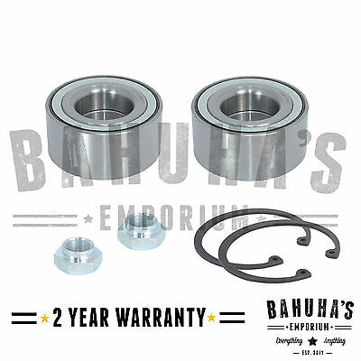 X2 Front Wheel Bearing Kit For A Peugeot 306 1993>2002 *new*