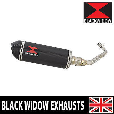 Piaggio Vespa GTV 300 4T 4V ie 2009-2016 Carbon Fibre End Can Silencer 300CT
