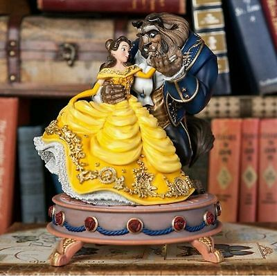 Disney Store Limited Edition Beauty and the Beast Doll Musical Figurine LE 1100