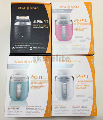 New Clarisonic MIA FIT Compact Daily Sonic Skin Cleansing System Alpha Fit