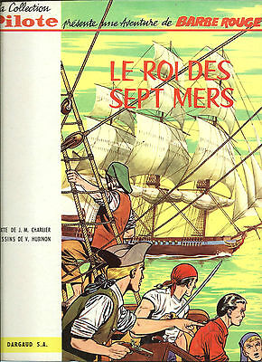 Rare Eo Collection Pilote Hubinon + Charlier Barbe Rouge : Le Roi Des Sept Mers