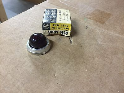 NEW Allen Bradley 800T N20 Red Lens For Pilot Lights