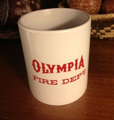 Olympia Fire Department Coffee Mug Cup