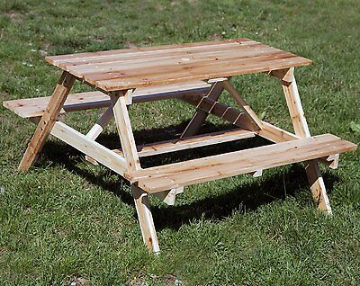 Astonica Junior Wooden Picnic Table For Kids - New in Box 50100392
