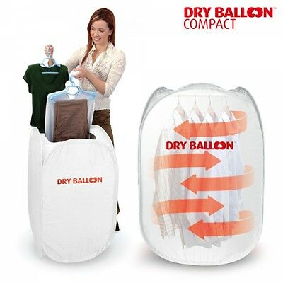 Portable Electric Clothes Dryer Balloon Dry Compact Travel Mobile Laundry Set