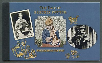 Great Britain 2016 Beatrix Potter Complete Prestige Booklet  Mint Never Hinged