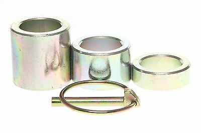 """King Kutter Height Spacer Kit Replaces 502120  1pc ea 1/2""""  1""""  1-1/2"""" & Pin"""