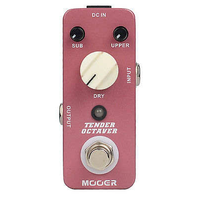 Mooer Tender Octaver octave Effect Pedal True Bypass for Electric Guitar