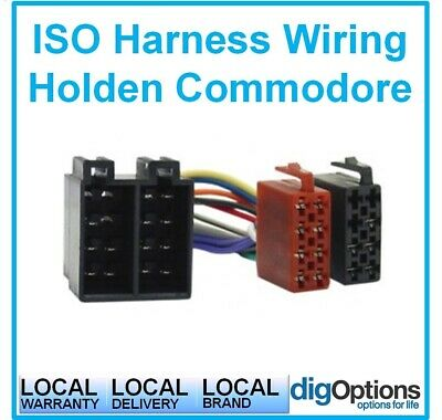 # For Commodore VY VZ XC LD TR Astra Calais Monaro Cable Harness Plug &Play ISO