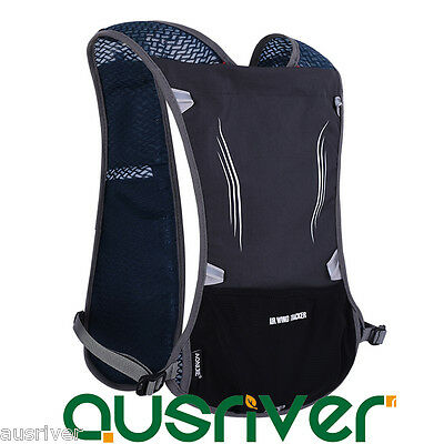 7Colours 5L Hydration Backpack Vest for Water Bladder Bag Hiking Running Cycling