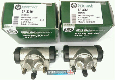 Land Rover Defender 90, Wheel Cylinder Set, REAR, up to 1994