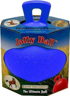"Horsemens Pride - Dual Jolly Ball 8"" Blue"