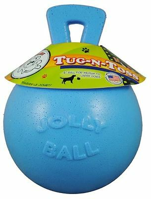 "Horsemens Pride - Tug-n-Toss Jolly Ball 6"" Blueberry"