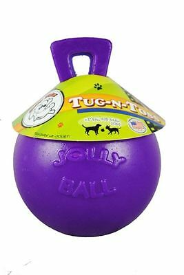 "Horsemens Pride - Tug-n-Toss Jolly Ball 4.5"" Purple"