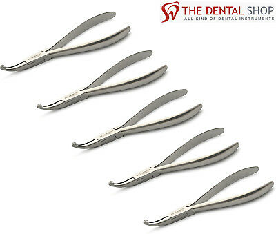 5 x Dental How Plier Curved 14cm Orthodontic Surgical Medical Tooth Braces Plier