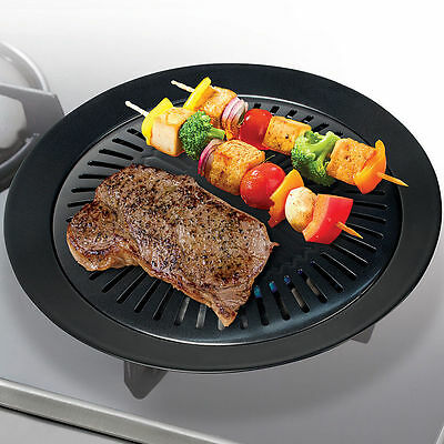 Smokeless Stovetop Indoor Healthy Aluminum Non Stick Griddle Barbecue Grill Home