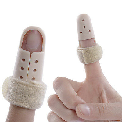 Mallet Dip Finger Support Brace Splint Joint Protection Injury Pain