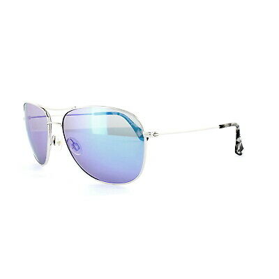 e4ebd810c4a Maui Jim Sunglasses Cliff House B247-17 Silver Blue Hawaii Polarized