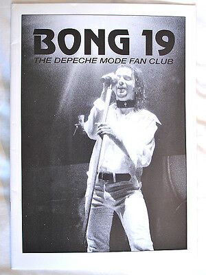 DEPECHE MODE Bong Fan Club Magazine No.19 1993 Interviews Dave Gahan WORLD SHIP