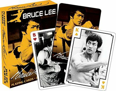 Bruce Lee Photos set of 52 playing cards (nm 52366)