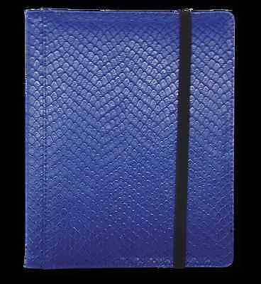 Dragon Hide 12 Pocket (3x4) Binder Blue LGN BN12DHU